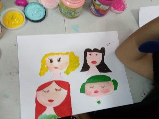 curso de dibujo y pintura infantil